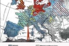 Karte 2 – Konfessionen in Europa nach 1648