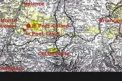 Karte 1 – Protestantisches Siedlungsgebiet in der Dauphine